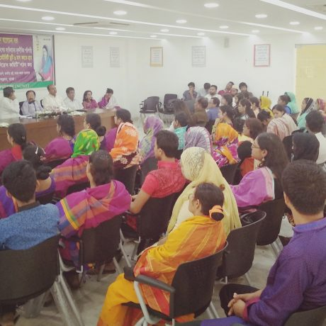 International Women's Day 2018 Observed by National Garment Workers Federation (NGWF)